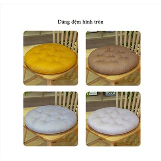 Đệm Lót Ghế, Đệm Ngồi Bệt Tròn Trang Trí Nhà Cửa, Quán Trà Sữa Kiểu Nhật thumbnail