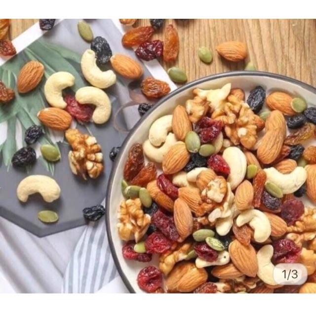 AM GREEN NUTS FOOD