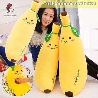ETXK Soft Banana Soft Plush Toy Pillow Simulation Fruit Pillow Children's Toys