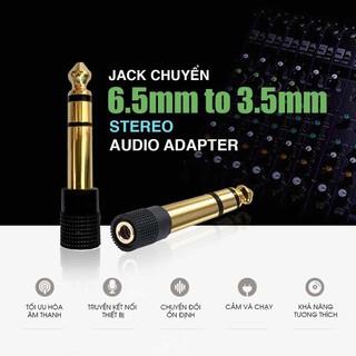 JACK CHUYỂN 6 ly ra 3.5 lỗ bằng đồng đúc cao cấp sử dụng