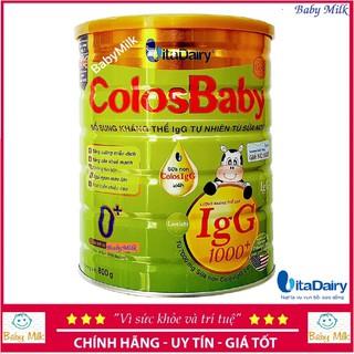 Sữa bột ColosBaby gold 1000IgG 0 (800g) (Chính hãng)