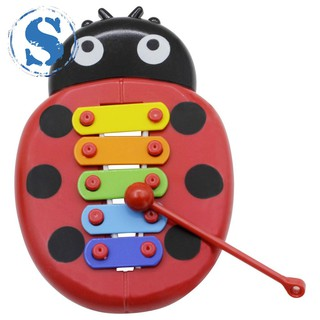 Inset Beetle Musical Toy Percussion Kid Music Instrument Kid Early Learning Educational Fun Toy