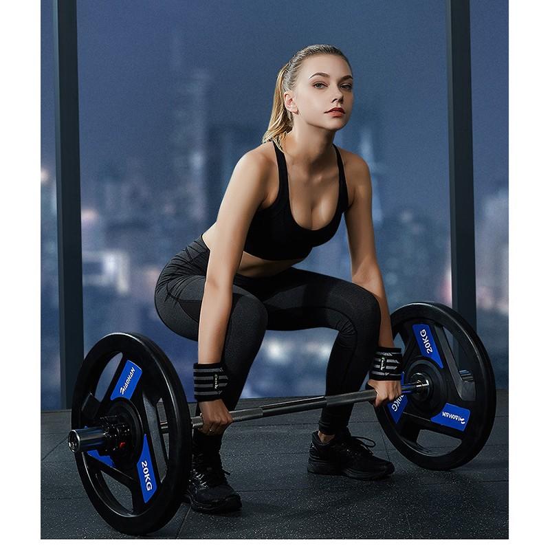 Dây Quấn Cổ Tay Tập Gym Băng Quấn Cổ Tay Hỗ Trợ Nâng Tạ BO16