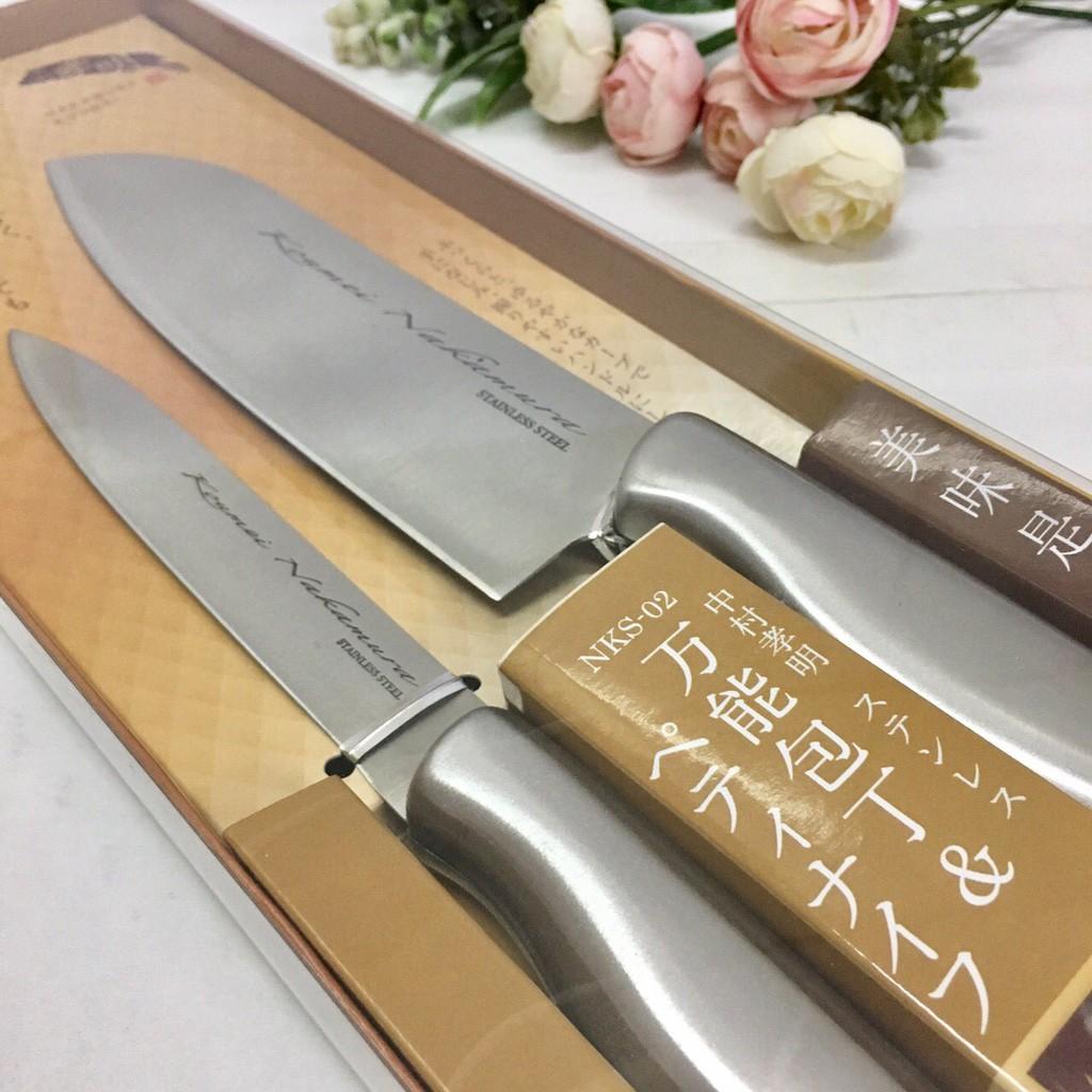Set 2 dao làm bếp Nakamura Nhật Bản - 2412609 , 566928246 , 322_566928246 , 365000 , Set-2-dao-lam-bep-Nakamura-Nhat-Ban-322_566928246 , shopee.vn , Set 2 dao làm bếp Nakamura Nhật Bản