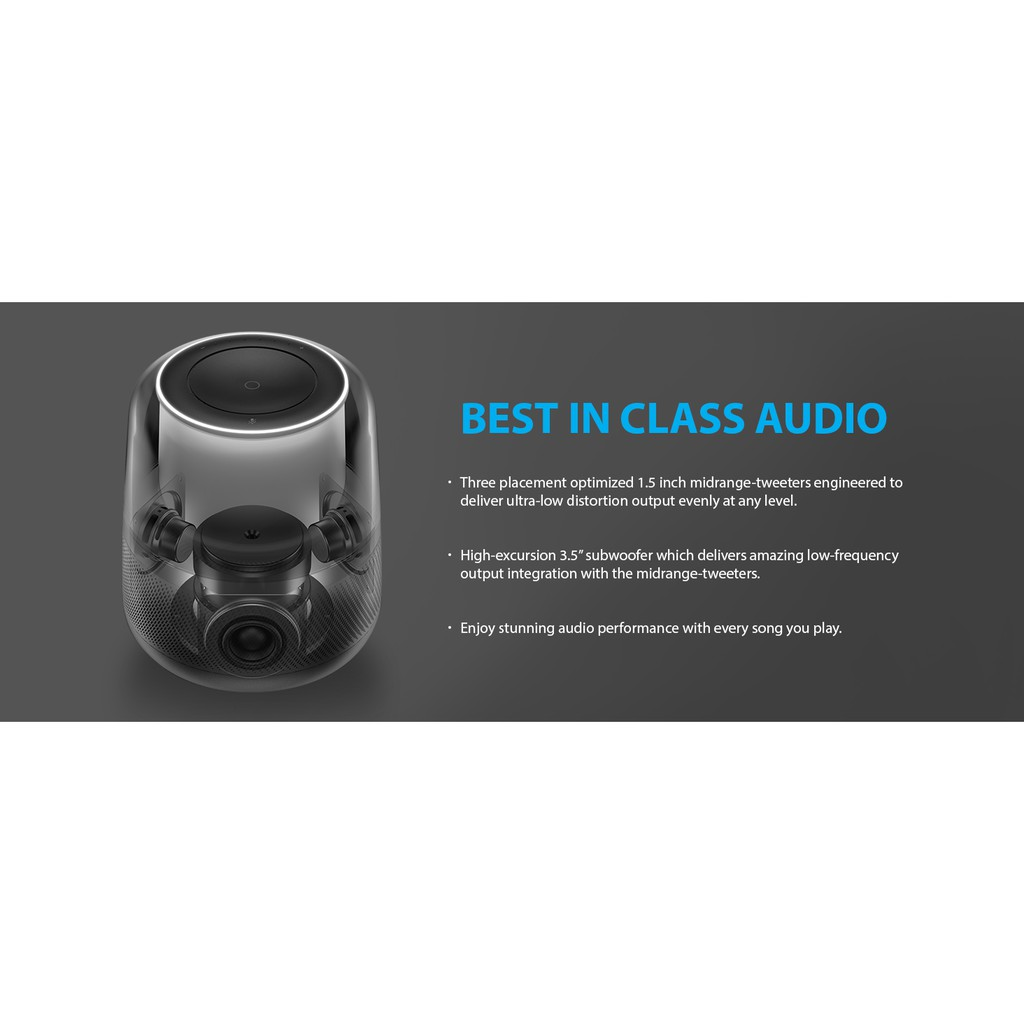 Loa Bluetooth Harman Kardon Allure Voice-Activated Home Speaker with Alexa