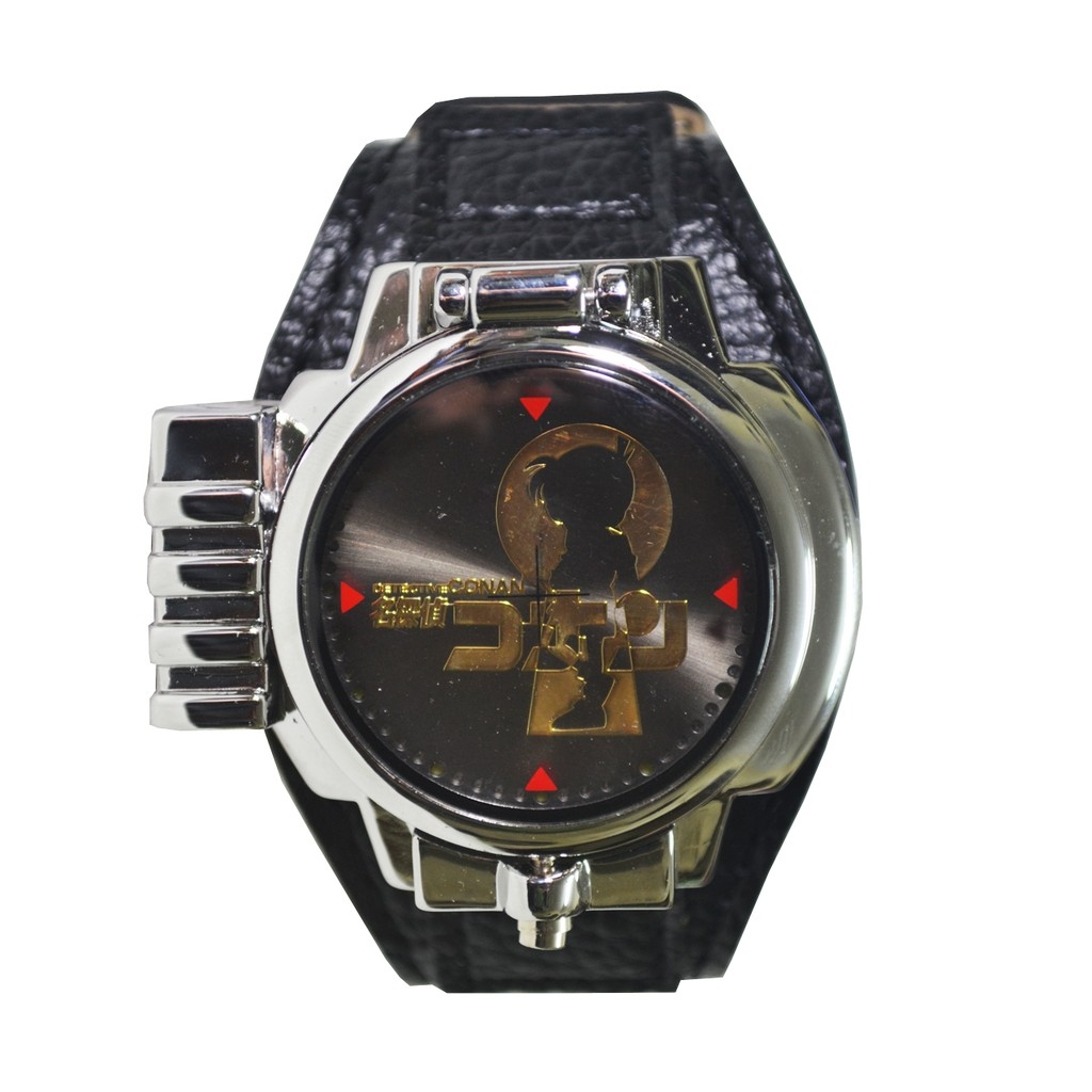 Đồng hồ Conan LED đeo tay bắn laser (Bạc) - 2964731 , 188875757 , 322_188875757 , 729000 , Dong-ho-Conan-LED-deo-tay-ban-laser-Bac-322_188875757 , shopee.vn , Đồng hồ Conan LED đeo tay bắn laser (Bạc)