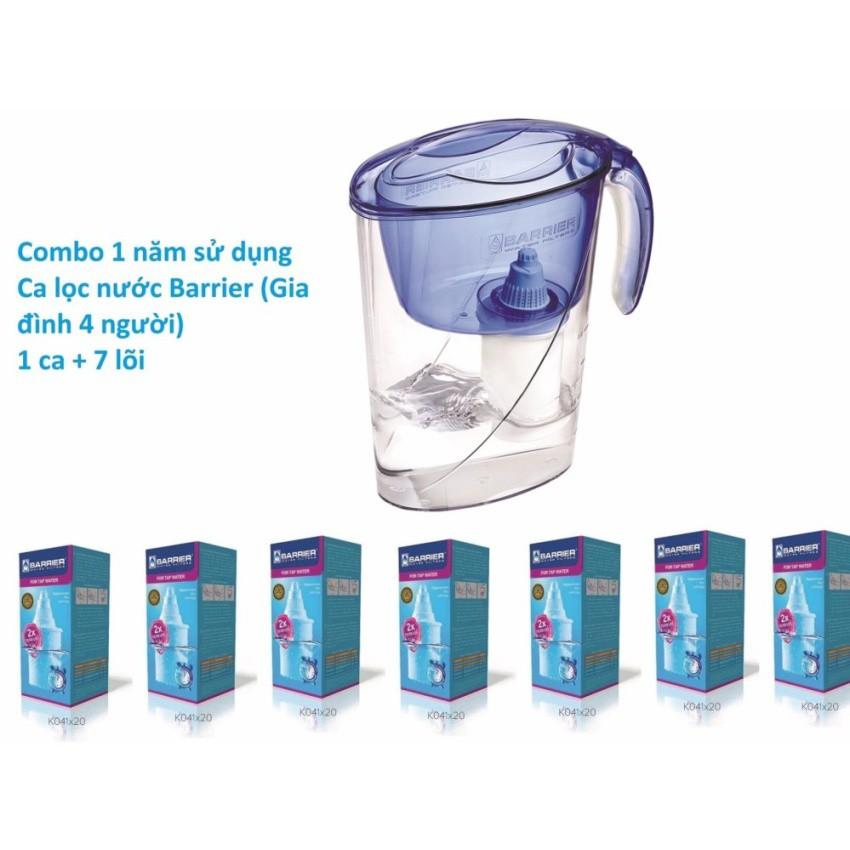 Bộ sử dụng 1 năm ca lọc nước Barrier cho gia đình 4 người (1ECO-BL+7 FC-STD)
