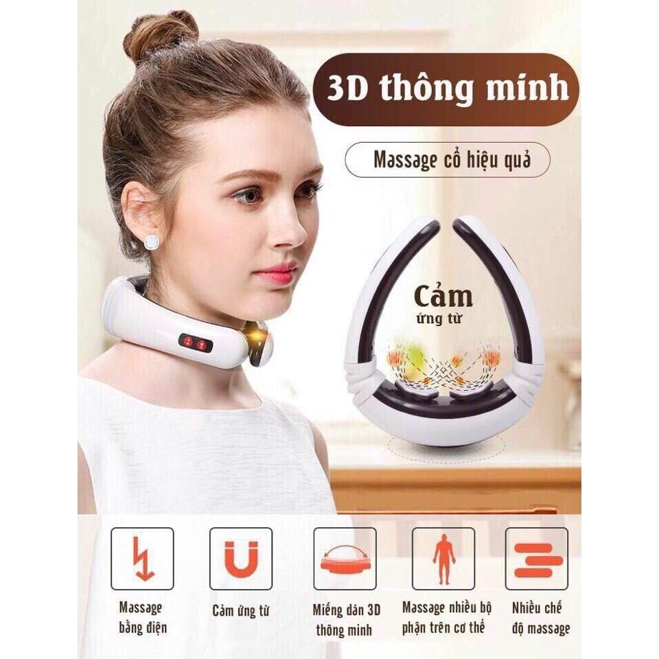 Máy Masage Cổ Toàn Thân 3D - 3580199 , 1233891859 , 322_1233891859 , 250000 , May-Masage-Co-Toan-Than-3D-322_1233891859 , shopee.vn , Máy Masage Cổ Toàn Thân 3D