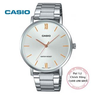 Đồng hồ nam Casio MTP-VT01D-7BUDF dây kim loại