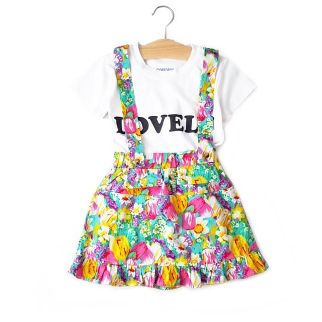 Đầm yếm HOT TREND bé gái
