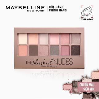 Bảng Phấn Mắt Tông Màu Nudes Maybelline New York The Nudes Palette 12 màu 9g