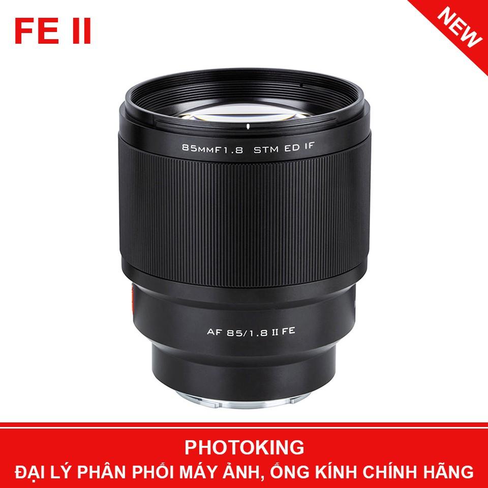 Ống kính Viltrox AF 85mm f/1.8 FE II Lens (Chính hãng)