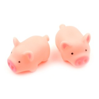 MT Quality 2Pcs Cute scream pig chicken hum pig Anti Stress Animal Vent Squeeze Toys plastic NY