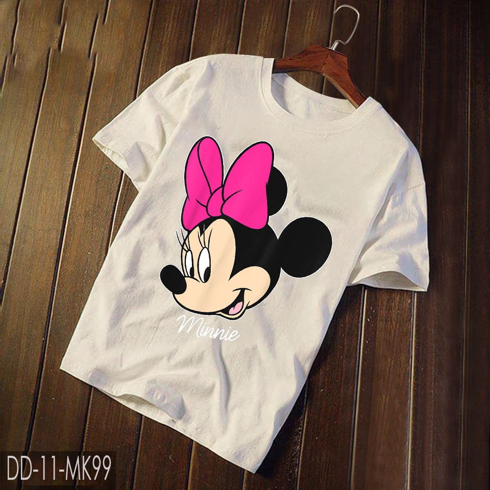 Áo Thun Mickey - Disney Mickey And Friends Minnie Mouse Big Face