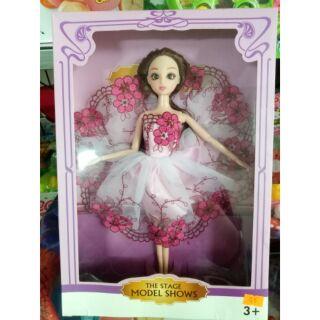 Búp bê babie mặc váy cô dâu siêu đẹp