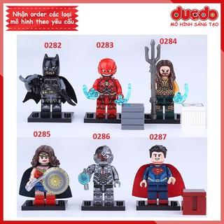 Minifigures các nhân vật Justice League tuyệt đẹp - Đồ chơi Lắp ghép Mô hình Mini Batman DECOOL 0282 0287 thumbnail