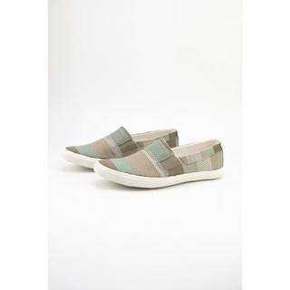 Giày Lười Nữ Cox Shoes Siliver/Brown 21