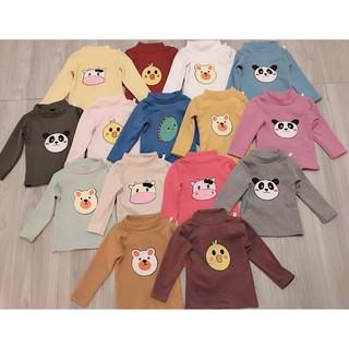 Áo len tăm cổ 3p cho bé trai và bé gái 7-18kg thumbnail