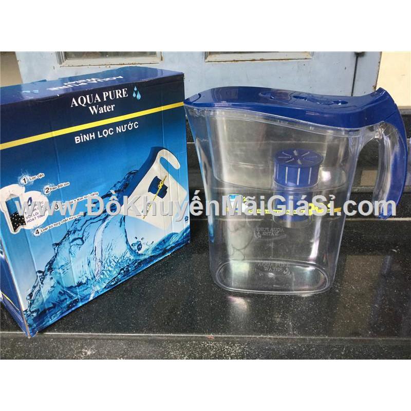 Bình lọc nước Aqua Pure than hoạt tính kháng khuẩn dung tích 4.5 lít - Sữa Ensure tặng.