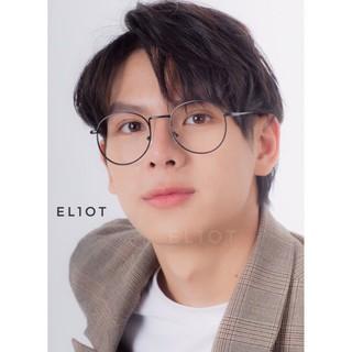 Gọng kính tròn Korean Glasses kính thời trang gọng kim loại Unisex