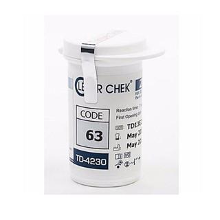 Que thử đường huyết Clever Check TD-4230 hộp 25 que thumbnail