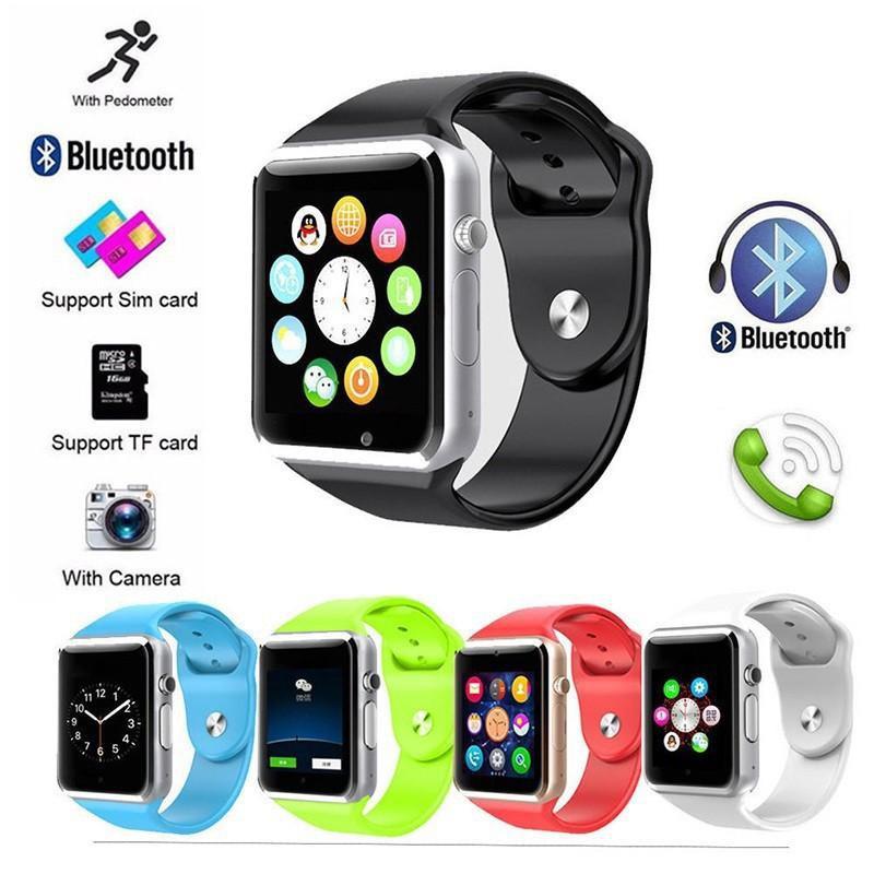 Đồng Hồ Thông Minh A1 Kết Nối Bluetooth Có Chức Năng Gọi Thẻ Sim Tf Camera Xx