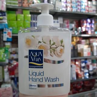 Nước rửa tay hoa nhài Aqua Vera 500ml - Trắng thumbnail