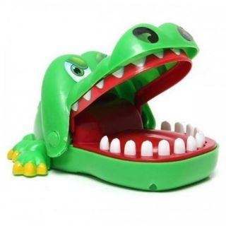 Đồ chơi khám răng cá sấu.