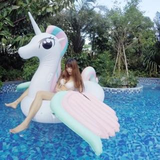 Phao ngựa Pony khổng lồ kèm ống bơm