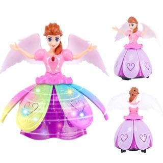 Đèn lồng Elsa xoay được váy có đèn kèm ảnh thật của shop