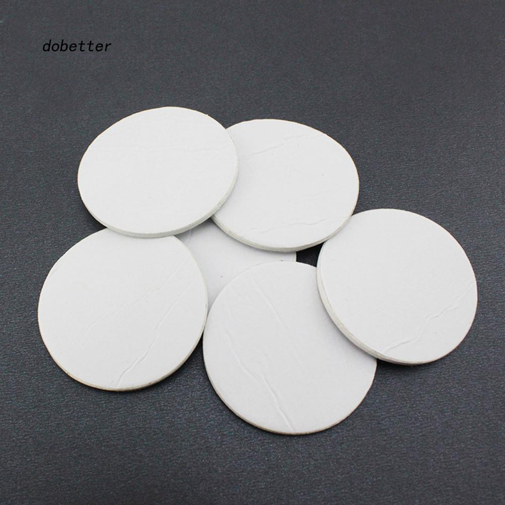 DOBT_10Pcs Double Sided Adhesive Pads Round Tape for Car Windshield Dashboard Toy