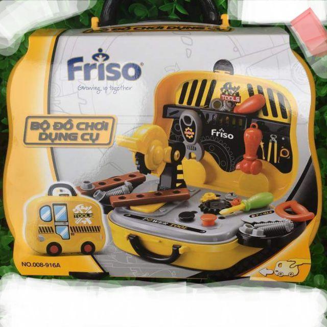 Bộ đồ chơi dụng cụ kỹ sư – quà tặng từ Friso
