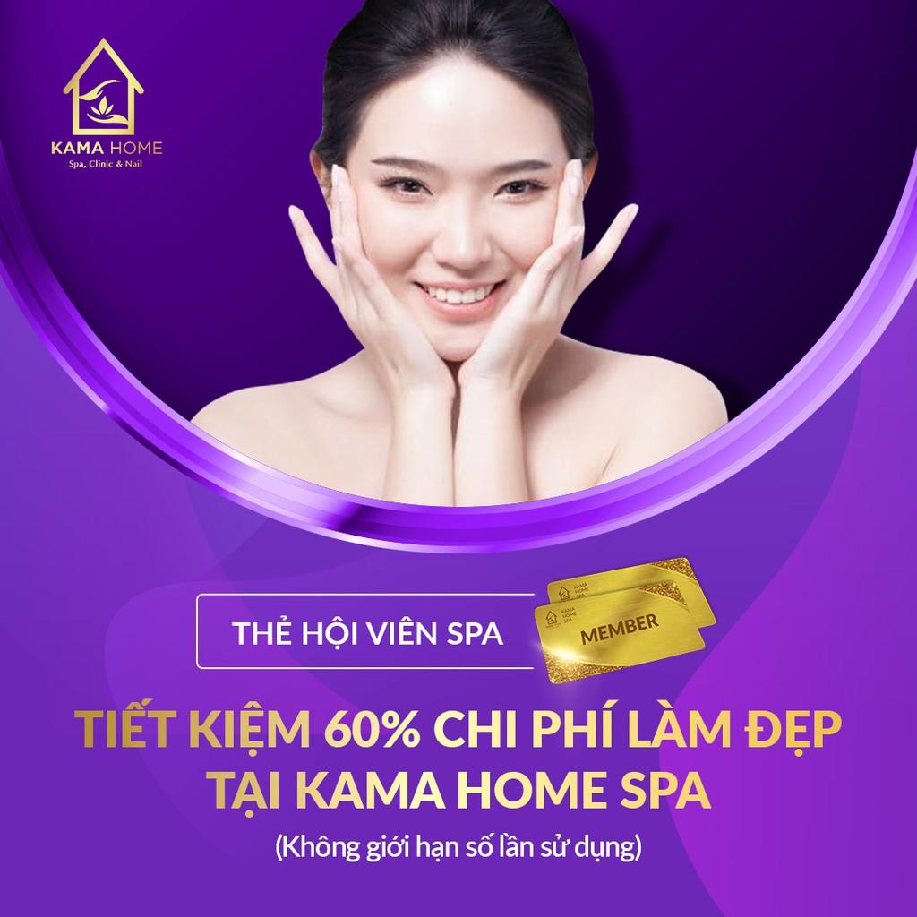 [VSDAY88 hoàn 50% xu đơn 10k] HCM [Voucher] - Làm Đẹp Tiết Kiệm Nhất Tại Kama Home Spa