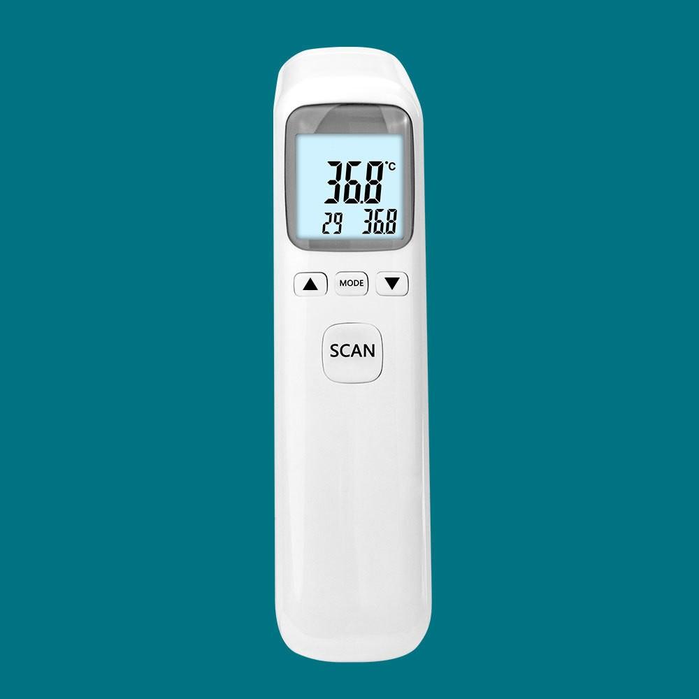 Nhiệt kế điện tử hồng ngoại, nhiệt kế đo trán dùng tại nhà cho kết quả chính xác, dễ sử dụng, hiện kết quả sau 1 giây