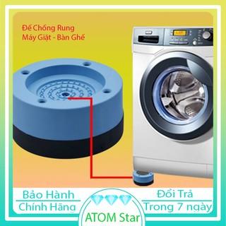 🌻Sét 4 Đế Chống Rung Máy Giặt silicol Cao Su Cao Cấp – ATOM Star