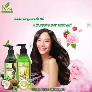 [BEST Of WOMEN] Dầu xả thảo dược NPRO 300ml - Ngăn dụng tóc - Tinh dầu bưởi, vitamin B5, dầu gạo, hạnh nhân thumbnail