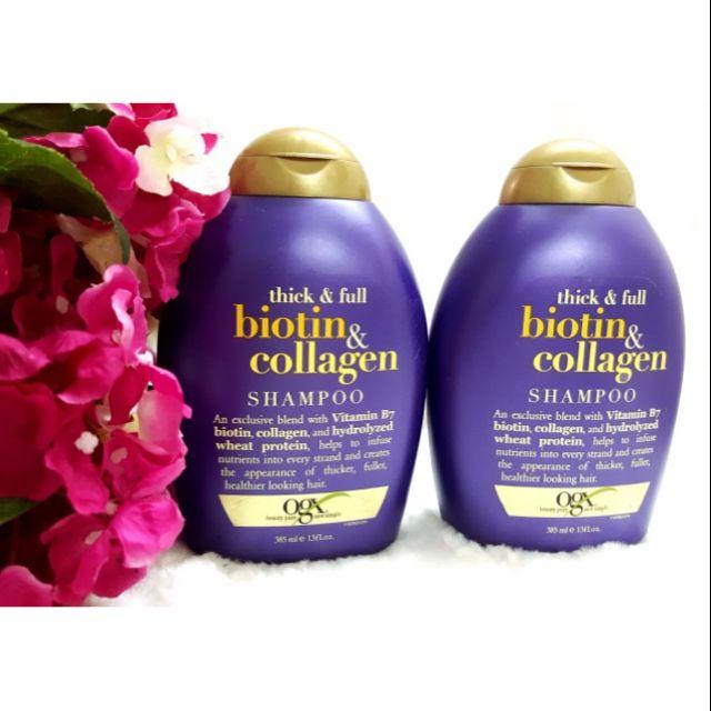 Bộ gội xả Biotin Collagen 385ml Đức | Shopee Việt Nam