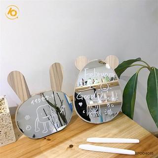 Yêu ThíchGương gỗ trang điểm để bàn kiểu dáng Hàn Quốc