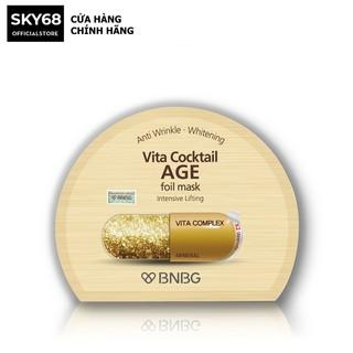 Mặt nạ dưỡng da giúp nâng cơ, chống lão hóa BNBG Vita Cocktail Age Foil Mask - Intensive Lifting 30ml thumbnail