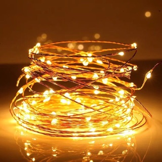 Dây đèn Led fairylight ,dây đèn đom đóm 3 mét dùng pin