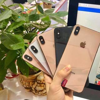 Điện thoại iphone xs max quốc tế zin nguyên cây full trutone full face id