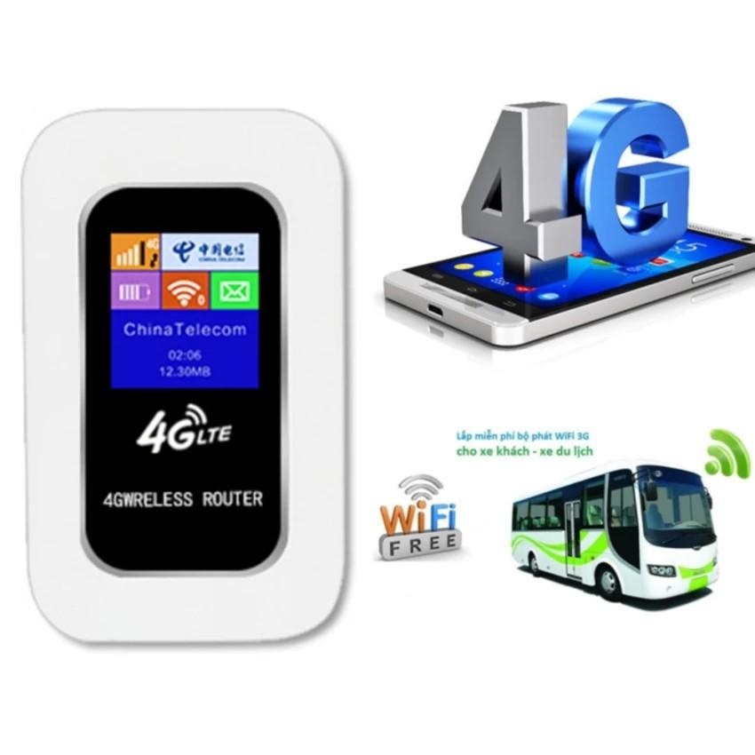 Bộ phát sóng wifi từ SIM 3G 4G Wireless Router (Loại Tốt - Bán chạy)