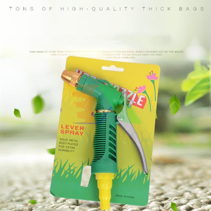 Vòi xịt nước tưới cây VOI-8057 Nối ba cấp, Đầu vòi nhựa rửa xe Phun tia Phun sương đa năng lắp ống 16mm, 20mmvà 25mm