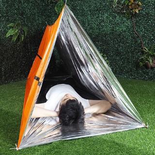 Túi ngủ lều ngủ dày khẩn cấp màu cam