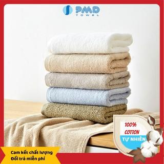 [Mã PHUMKLO68 giảm 15K đơn 250K] KHĂN TẮM CAO CẤP MUJI 100% Cotton Hàng xuất Nhật, Dày Dặn Mềm Mịn, Thấm Hút Tốt