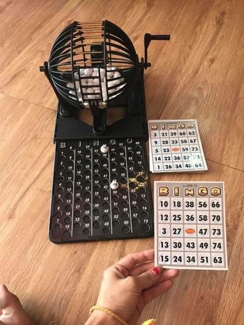Lồng quay lô tô Bingo Neo Big Size giá tốt nhất thị trường