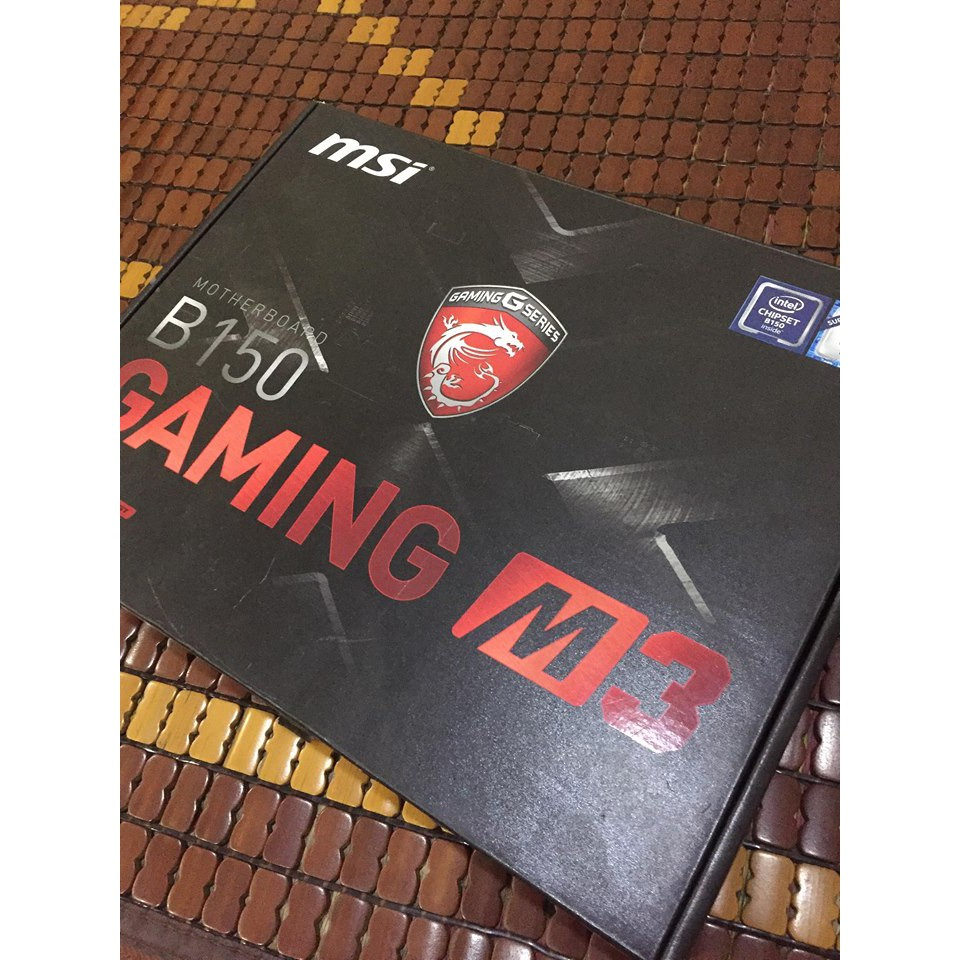 Main MSI B150 GAMING M3 Full box BH 2020