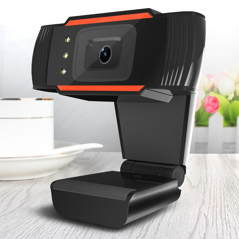 Peripherals Rotatable Camera Monitoring HD Webcam Home Absorption Microphone USB PC Video A870C3