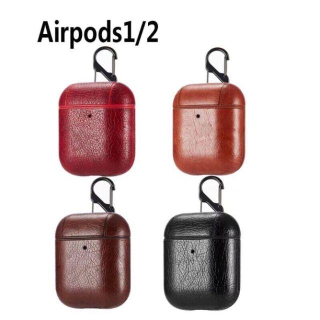 Vỏ đựng Tai Airpods 1/ 2 giả da siêu sang, siêu chảnh