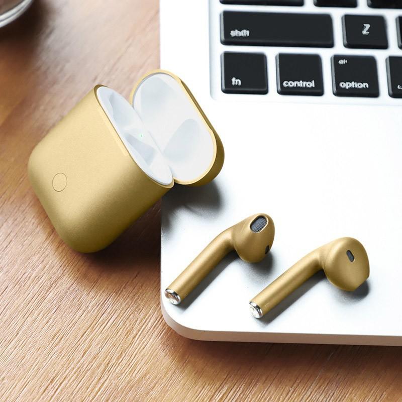 Tai nghe Bluetooth TWS Hoco ES28 Original series V5.0, Tăng giảm âm lượng trên tai